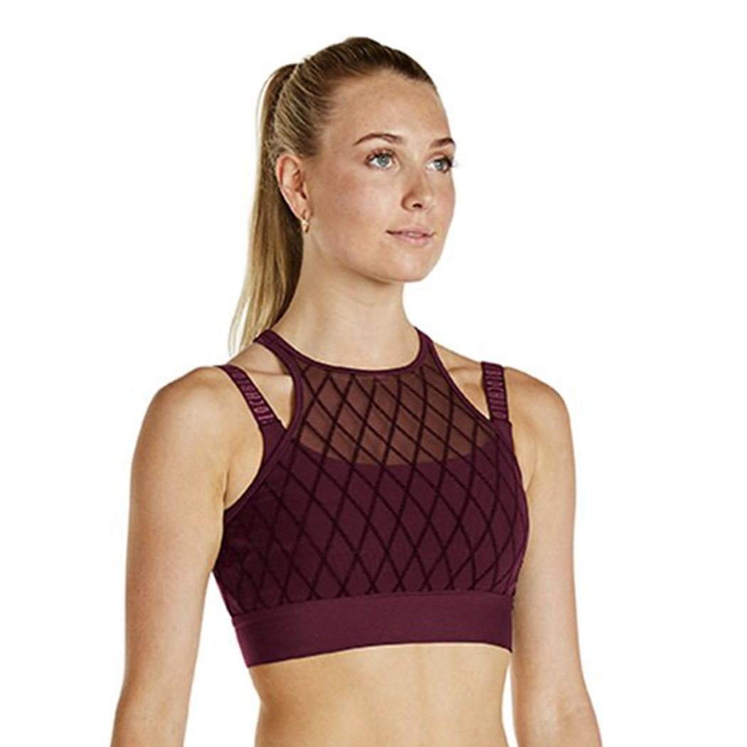 a4f720ee7b3b Bloch Azriella Rococo Collection Diamond Crop Top FT5040