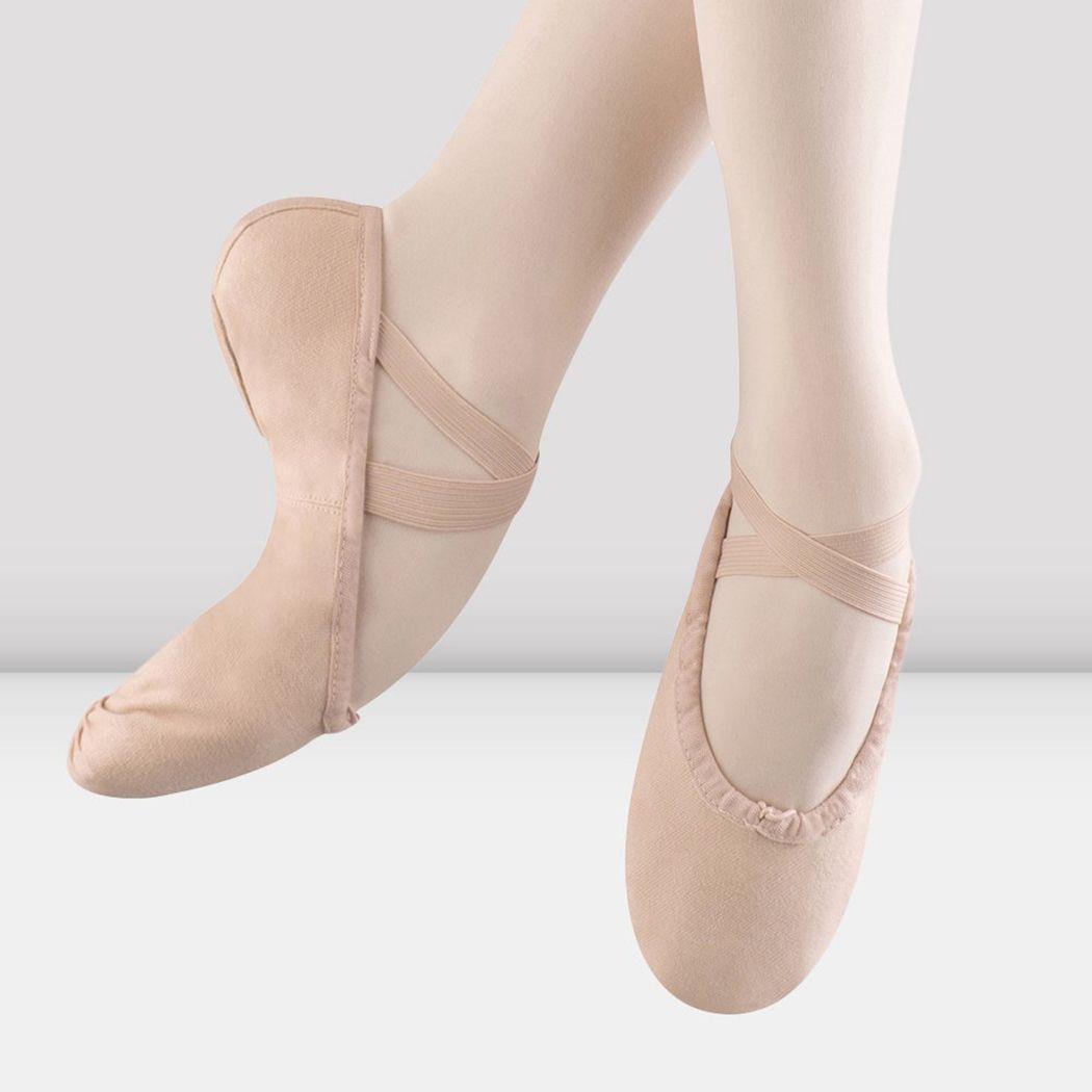 AU SELLER Ballet JAZZ Dance Canvas Shoes Split sole For