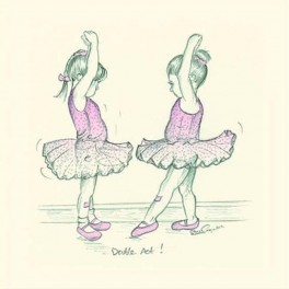art of dance minature print - double act