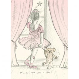art of dance greetings card - wish upon a star