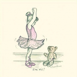 art of dance miniature print - let's dance