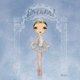 ballet papier dream dance notebook