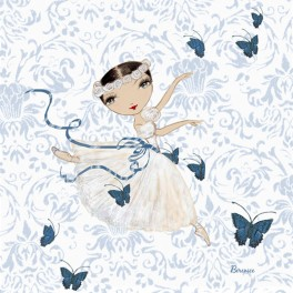 ballet papier giselle dance greetings card