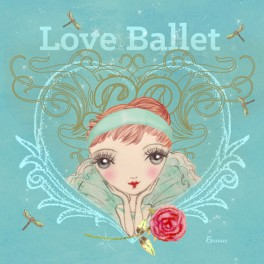 ballet papier love ballet greetings card
