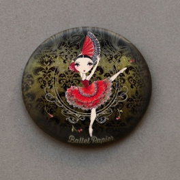ballet papier kitri pocket mirror