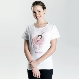 ballet papier sugar plum fairy fitted tee
