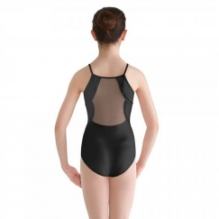 bloch trinetta studded pearl back cami teen leotard