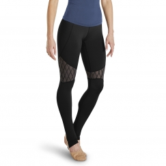 bloch francine and maeva rococo collection leggings