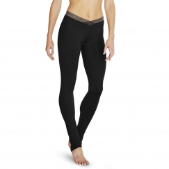 bloch distinction and desmina stripe mesh leggings