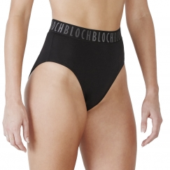 bloch teigan high waisted logo briefs