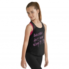 bloch peta printed racer tank top