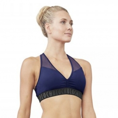 bloch aalia racer back crop top