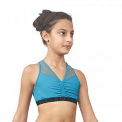 bloch leianna belle collection racer back crop top