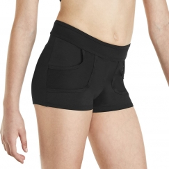 kaia by bloch mesh pocket shorts