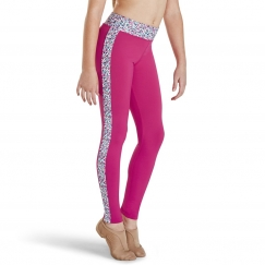 kaia by bloch libery berry full length leggings