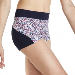 kaia by bloch liberty berry shorts