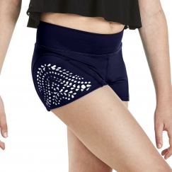 kaia by bloch laser cut shorts