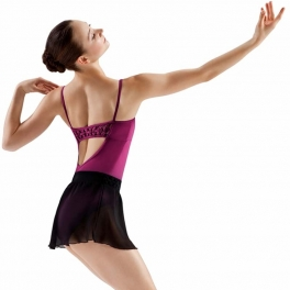 bloch muse rouleau weave camisole leotard