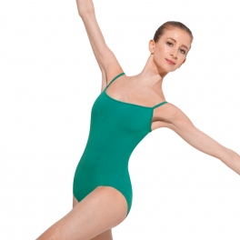 bloch  cameliia rouleaux back camisole leotard