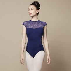 bloch caia aurelia collection cap sleeve leotard