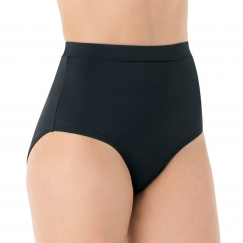 bloch cara high leg high waisted dance briefs