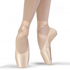 bloch synthesis stretch satin pointe shoe