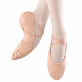 bloch prolite ii hybrid leather ballet shoe