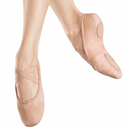 bloch zenith ultimate stretch canvas ballet shoe