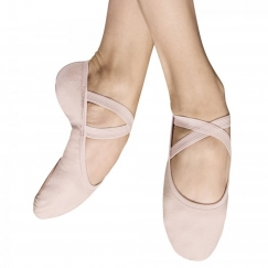 bloch performa split sole stretch canvas ballet shoe