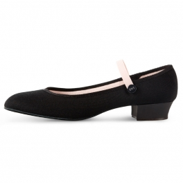 bloch accent rad low heel character shoe