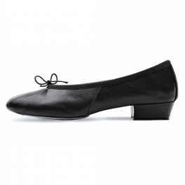 bloch paris leather split sole teaching shoe