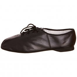 bloch essential full sole leather jazz shoe