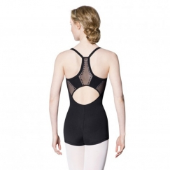 bloch karlis studded pearl camisole unitard