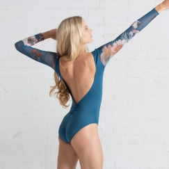 ballet rosa serene etelan collection long sleeve leotard