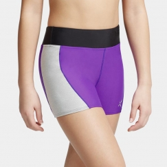 capezio metallic accent shorts