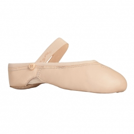 capezio love ballet leather ballet slipper