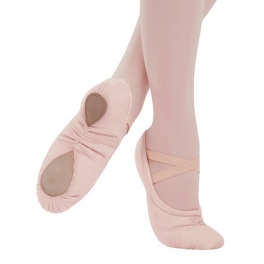 capezio professional canvas ballet shoe