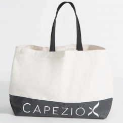 capezio large canvas dancers tote bag