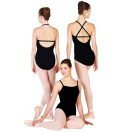 capezio bodisilk transition camisole leotard