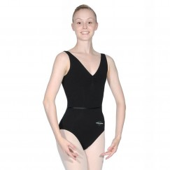 fusion dance co ruched tank leotard