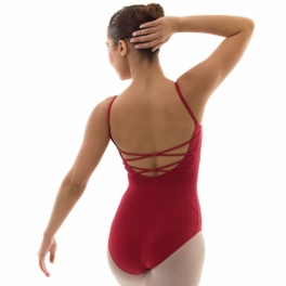 capezio string-back leotard