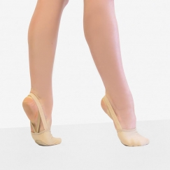 capezio hanami pirouette canvas turn shoe