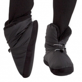 capezio scrunch warm up bootie