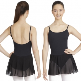 capezio skirted camisole dress