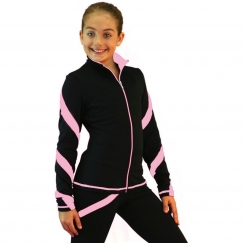 chloe noel spiral figure skating jacket