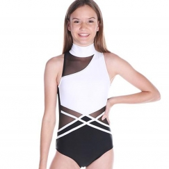 cosi g amazon in the wild collection high neck leotard