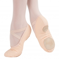 grishko tempo split sole canvas ballet shoe