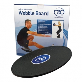 fitness mad adjustable wobble balance board