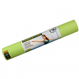 yoga mad warrior ii yoga mat