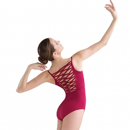 jozette for mirella wave band camisole leotard